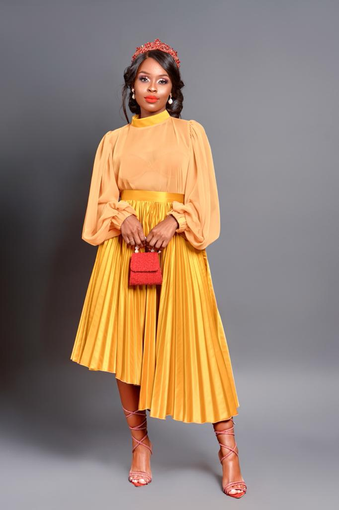 Tralala the Mustard skirt (only)